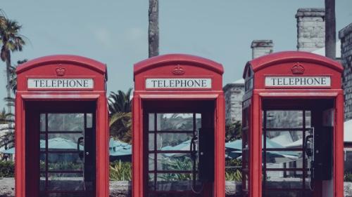 Bermuda phone boxes